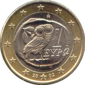 Euromünze Griechenland